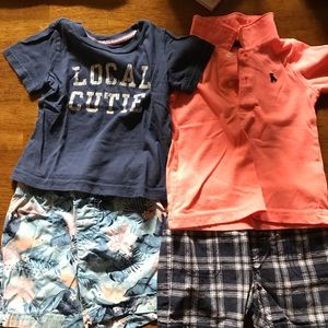 Carters short sets!